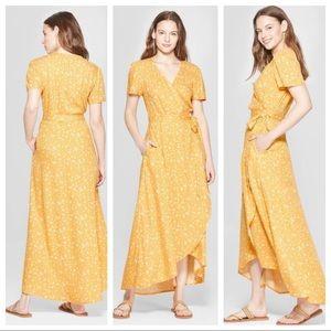🌹 Boho, maxi Universal thread dress